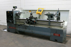 20 Swg 87 Cc Clausing metosa C2087 Engine Lathe 3 jaw 4 jaw Toolpost Stead