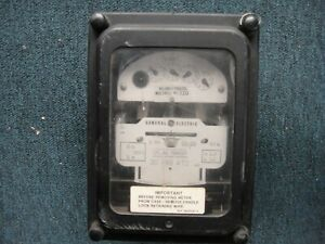 General Electric Ds 63 Polyphase Switchboard Watthour Meter Instruction Manual