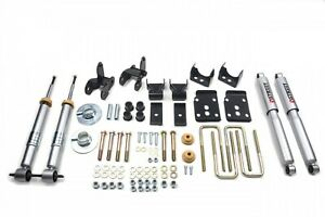 Belltech Complete Lowering Kit Fits 2wd 15 Ford F 150 Short Bed All Cabs 1001sp