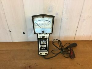 Vintage Dixson Model 1501 Tach And Dwell Handheld Tester Works