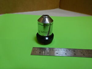 Wild Heerbrugg Swiss M20 Objective Phase 10x Microscope Part Optics As Is 88 12