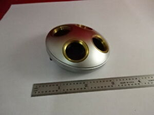 Sm lux Nosepiece Brass Leitz Germany Microscope Part As Is 3 b 29