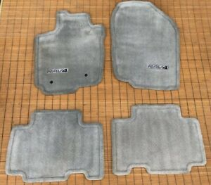Oem Genuine 2006 2012 Rav4 Carpet Floor Mats Set Of 4 Gray