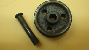Antique 5 16 Treadle Sewing Machine 3 Hole Caster Wheel W Pin