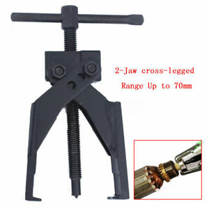 Up To 70mm Gear Bearing Puller 2 Jaw Extractor Pilot Remover Tool For Car Suv