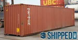 Used 40ft Highcube Shipping Containers For All Storage Pueblo Colorado