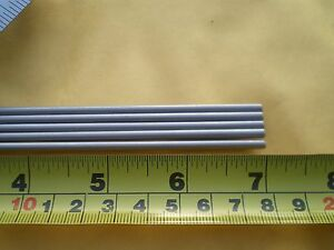 3 Pcs Stainless Steel Round Rod 304 1 8 125 3 24mm X 7 Long