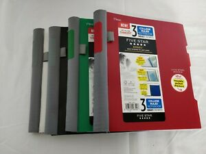 Five Star Advance Wirebound Notebook College Rule 11 X 8 1 2 3 Subject 150 Lot 4