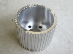 New 8mm 45 Tooth Aluminum Blower Pulley Supercharger Dragster 6 71 8 71