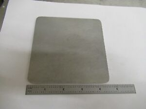 Leitz Germany Aluminum Plate Stage Ortholux Microscope Part As Pictured