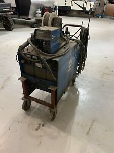 Miller Deltaweld 450 With Miller S 60 Wire Feeder mig Gun And Cart