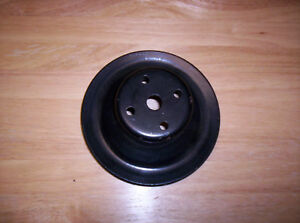 Mopar 340 318 Water Pump Pulley Single Groove W O A C