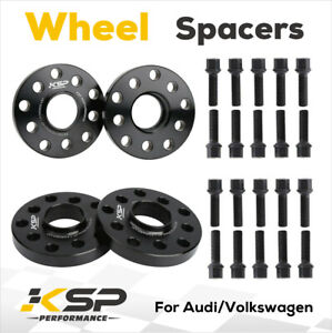 15mm 20mm 5x100 5x112 Complete Set Of Hub Centric Wheel Spacers For Audi A6 Cc