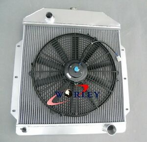For Ford V8 Cars 49 50 51 52 53 Aluminum Radiator fan 1949 1950 1951 1952 1953