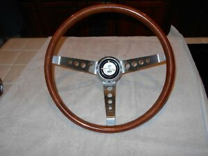 1967 Shelby Mustang Gt 350 Steering Wheel Nardi Secura Made In Itlay