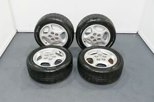 Oem Nissan Z32 300zx Aluminum 16x7 24wheels With Yokohama Tires For Sale