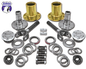Yukon Gear Axle Ya Wu 05 Lockout Hub Conversion Kit 2003 2008 Ram 3500 Drw Dual