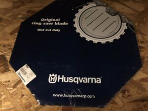 Husqvarna 10 Original Ring Saw Blade Wet Cut Only