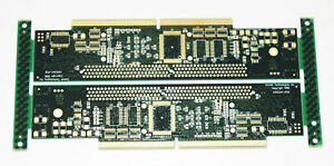 2x Sonnet Technologies Crescendo Mac Green Pcb Board Prototype C61g3 av New Pair