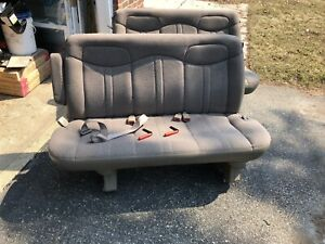 1999 Chevy Express 2500 Bench Seats X2