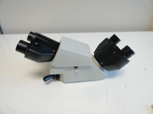 Nikon Dual Binocular Head Labophot Optiphot Microscope