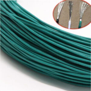 Green Equipment Wire Diy Electrical Wire Flexible Cable Ul1015 8 10 12 24awg