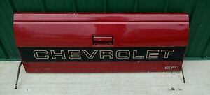 Chevy Gmc Truck Tailgate Flare Side Short Bed Tail Gate Oem 1988 1994