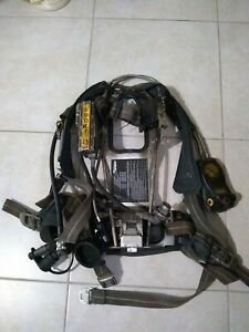 Scott 4 5 Ap50 Scba Hud Rit Firefighter Air Pack Buddy Breather Quick Connect