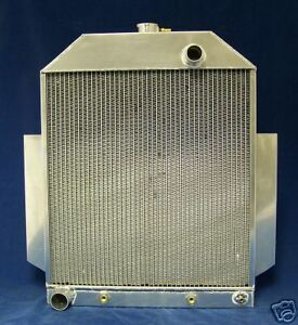 1949 1950 1951 Ford Truck Aluminum Radiator 49 50 51 Made In Usa