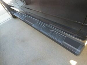 6 Black Running Boards For 09 19 Dodge Ram 1500 2500 3500 4500 5500 Crew Cab