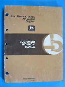 John Deere K Series Air Cooled Engines Ctm5 Technical Manual