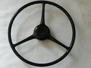 Vintage Sheller Steering Wheel 18 X 4 7 8 Splined Hole Nos Chev Ford Jeep Ch