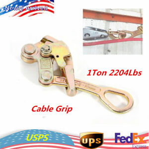 Alloy Steel Multifunctional Cable Wire Rope Haven Grip Puller Pulling 1t 2204lb