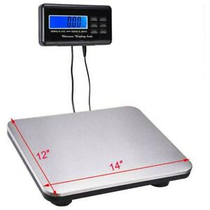 Digital Shipping Scale Postal Scale Lcd 660 Lbs Capacity W Ac Adapter