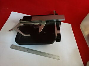 Leitz Germany Stage Table Micrometer Microscope Part Sm lux As Pictured