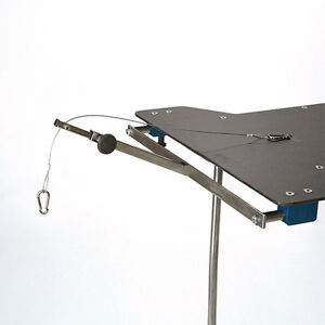 New Mcm 345 Surgical Table Armboard Horizontal Hand Surgery Traction Tower 24
