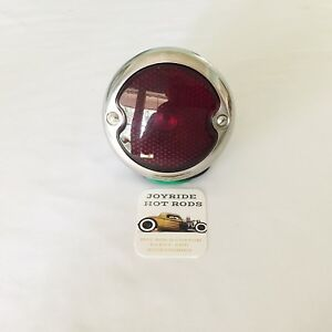 1933 36 Ford Tail Light R h polished S s Hot Rod classic Truck hiboy