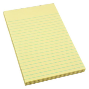 Legal Ruled Notepads 3 Pack pack Of 6