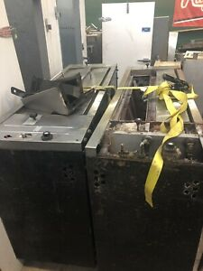 Bakers Pride Y 600 Double Stack Pizza Oven as Is From Working Store