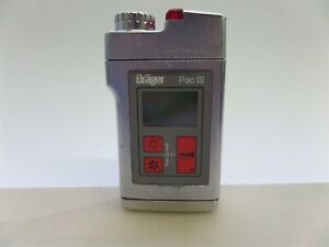 Drager Pac Iii 4530010 Permissible Gas Monitor Detector W Cl2 Sensor