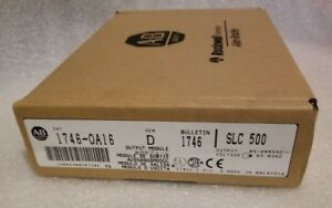 New In Box Allen bradley 1746 oa16 Ser D Output Module