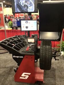 Eewb334a Motorized Wheel Balancer With Touchscreen Video Display