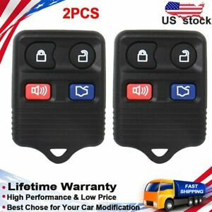 2x Keyless Entry Remote Control Car Key Fob For Ford Taurus Expedition Mustang