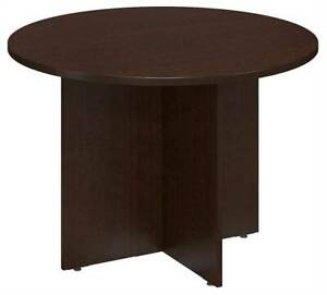 Round Conference Table In Mocha Cherry id 3759088