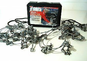 Laclede Sierra Cable Link Radial Snow Chains For 14 15 Sae Tires Model 1938