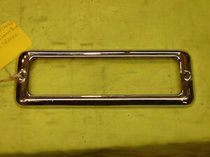 1941 50 Packard Clipper License Lite Lense Bezel