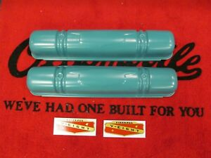 1953 1955 Buick Century Special Roadmaster Super V8 Restored Valve Cover Set