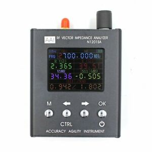N1201sa Uv Rf Vector Impedance Ant Swr Antenna Analyzer Meter Tester 137 5m 2 7g