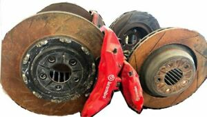 15 17 Challenger Srt8 Bbk Brake Kit Calipers And Rotors Rwd 6 Piston Opt Br7 Red