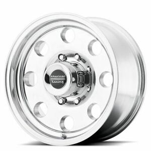 4 New 17x9 12 American Racing Baja Polished 5x127 Wheels Rims